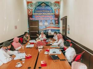 Dispusip Technical Meeting Perlombaan Perpustakaan Sekolah Tingkat SMASMKMA se-Pekanbaru (3)