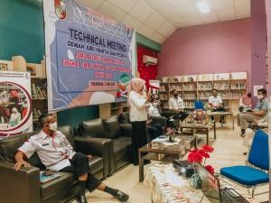 Dispusip Technical Meeting Perlombaan Perpustakaan Sekolah Tingkat SMASMKMA se-Pekanbaru (4)