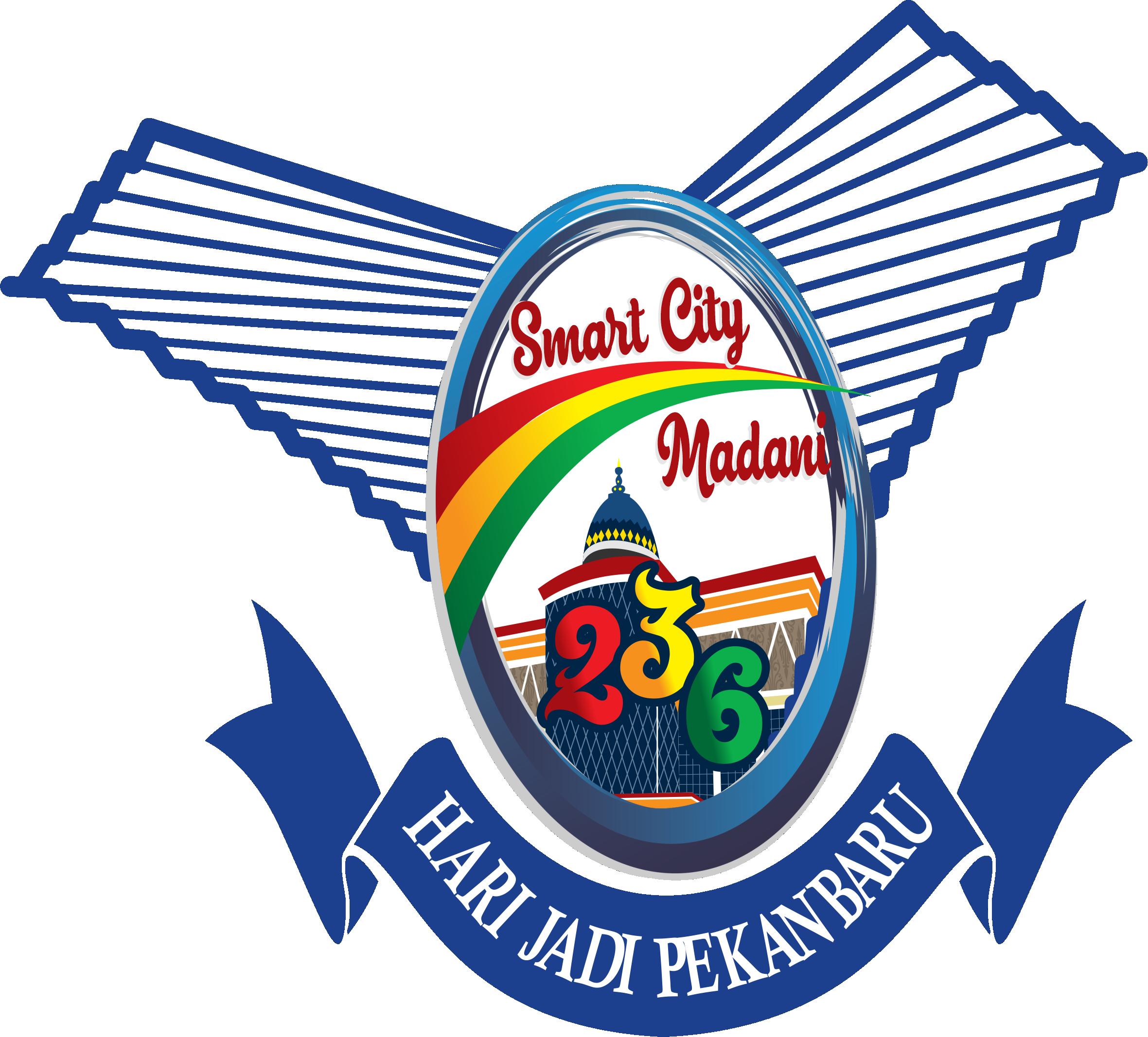 Logo Hari Jadi Kota Pekanbaru Ke 236 Tahun