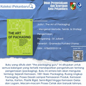 The Art of Packaging buku