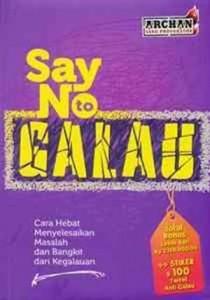 say no to galau